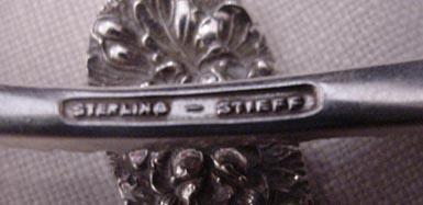 Rose Steiff Citrus Spoons Sterling Silver