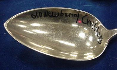 Hand Hammered Old Newbury Crafters Stuffing