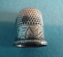 Thimble House design Silver