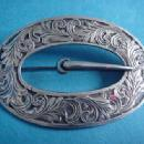 Buckle Paye and Baker engraved Belt Buckle Pin