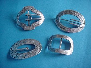 Unger Brothers Buckle Pin Sterling Silver