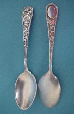 Eglantine Gorham 10 Demitasse Spoons Sterling