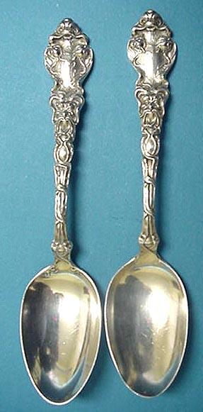 Douvaine Unger Teaspoons Sterling Silver
