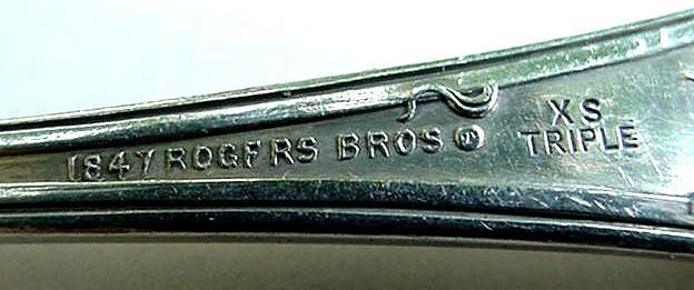 Vintage Rogers Berry Spoon Silverplate