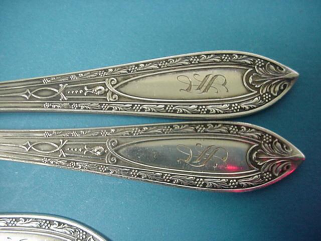 Chateau Whiting  soup spoons Sterling Silver