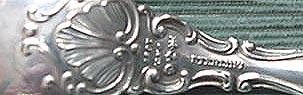 Strasbourg Gorham sterling silver serving spoon
