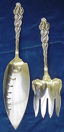 Ailanthus Tiffany & Co.  Fish Serving  Set