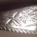 Wood & Hughes Engraved Wheat  pattern large