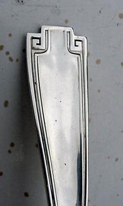 Etruscan Gravy Ladle Gorham Sterling Silver