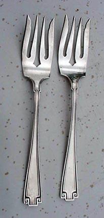 Etruscan Salad Forks TWO Gorham Sterling Silver