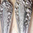 Rose Wallace Sterling Silver Dinner Forks 12
