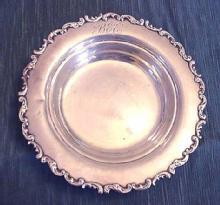 Louis XV bowl Whiting sterling silver