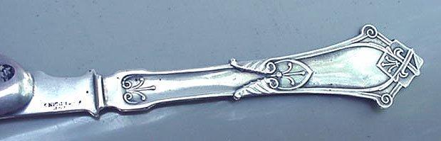 Viola Knife Wood & Hughes Sterling Silver
