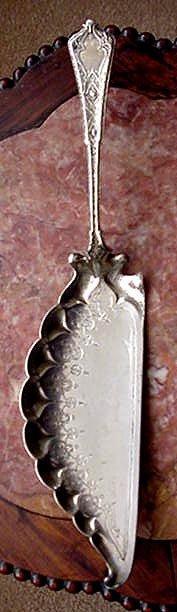 Persian Tiffany Sterling Silver CRUMB KNIFE
