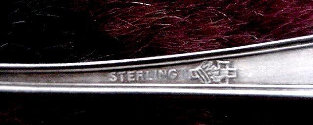 Oklahoma Souvenir Spoon  Sterling silver