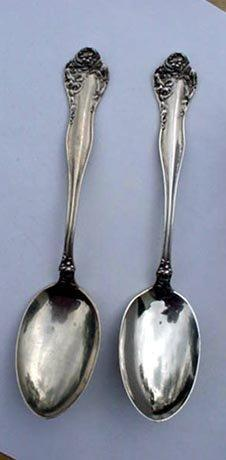 Stratford tongs Carnation Sterling silver  Floral