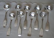 Coin Silver Stanton Gravy Ladle