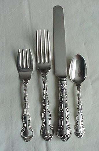 Strasbourg Dinner place setting OLD Gorham Sterling silver