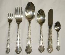 Strasbourg hollow butter knives  8 Gorham Sterling Silver Flatware
