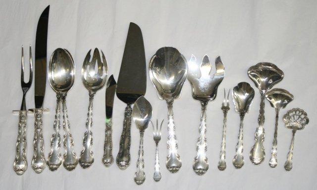 Strasbourg sugar spoon  Gorham Sterling Silver Flatware