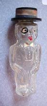 Perfume Charlie McCarthy glass figural