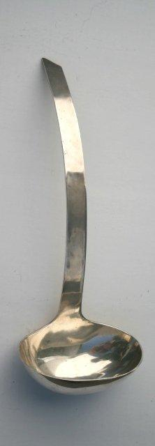 Mexico Soup Ladle Sterling Silver Heavy