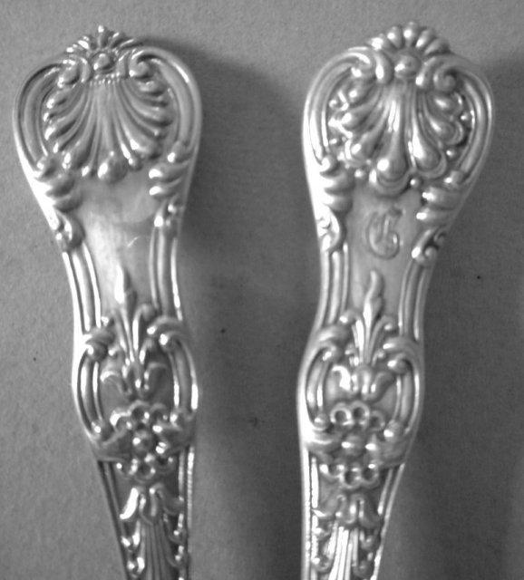 English King Tiffany Sterling Iced tea spoons