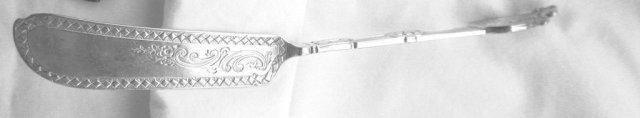 Medallion Gorham Egg Spoons sterling silver