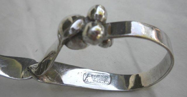 Blossom Ladle sterling Hand Hammered Sanbourne