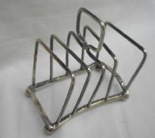 toast rack sterling silver English