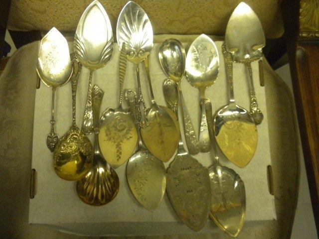 Chrysanthemum Durgin Berry Spoon sterling silver
