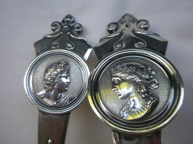 Medallion Gorham Soup Ladle sterling silver