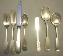 Old English Tipt Gorham Sterling Set for 8