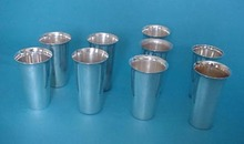 Iced Tea Tumblers Sterling Silver