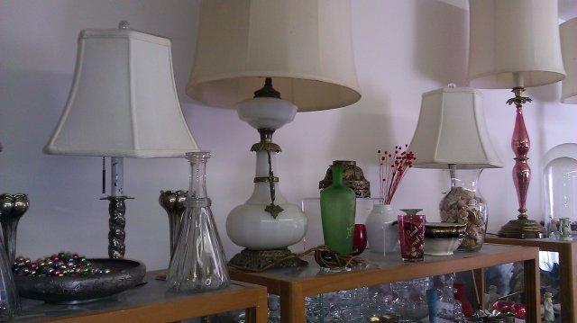 Lamp Eastlake oil lamp design white milk glass electric