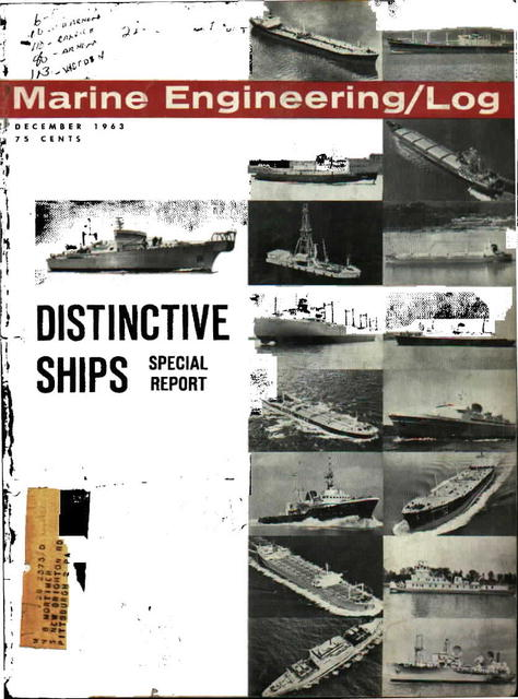 Marine Engineering/Log, December 1963
