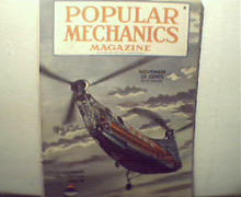 Popular Mechanics-11/45 Tokyo,Robot Air Crew, The Atom