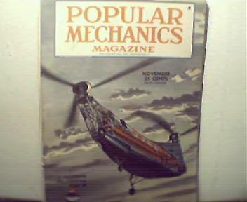 Popular Mechanics-11/45 Tokyo,Robot Air Crew, The Atom
