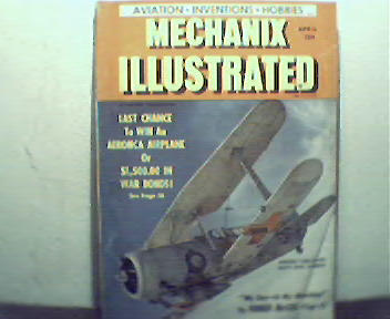 Mechanix Illustrated-4/43 Blast the Japs, Human Electro