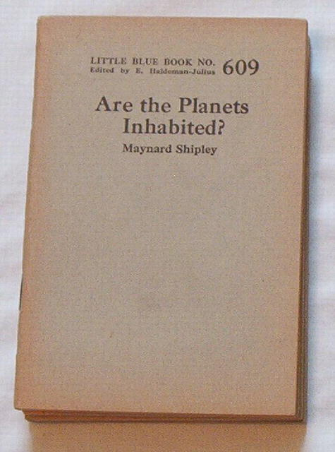 Are the Planets Inhabited? by Maynard Shipley, LBB #609