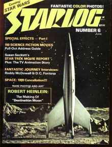 Starlog #6 6/1977 Star Trek, Rock Band Angel