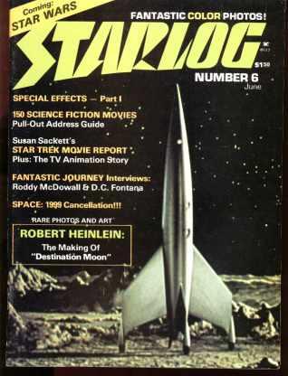 Starlog #6 6/1977 Star Trek, Rock Band Angel