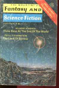 Fantasy & SF Sept 1977 Asimov Sprague de Camp