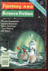 Fantasy & SF Jan 1978 Eisenstein Asimov Reamy