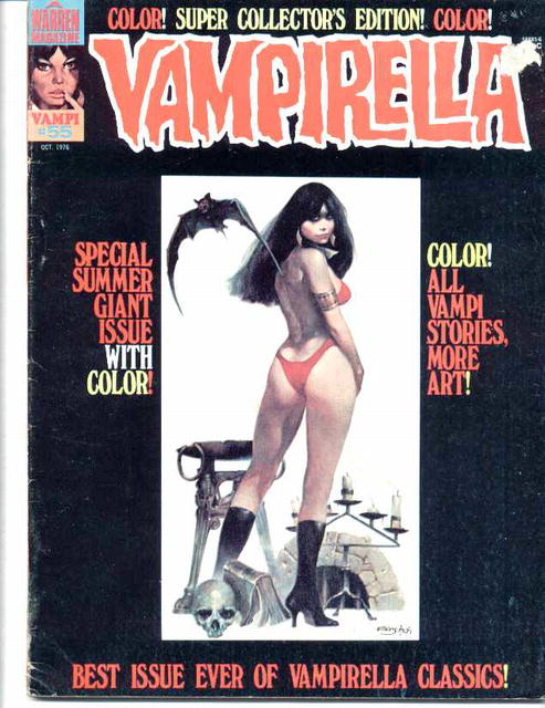 Vampirella #55/Oct.1976/Giant issue