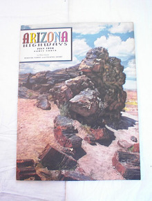 JULY,1958 ARIZONA HIGHWAYS PETRIFIED FOREST