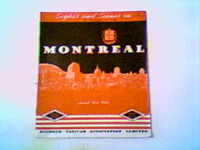 MONTREAL 1938 DIAMON CAB SIGHTS & SCENES