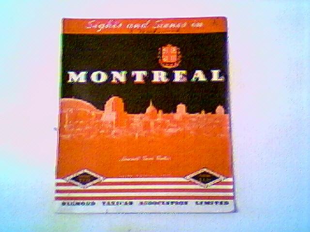 MONTREAL 1938 DIAMON CAB SIGHTS & SCENES