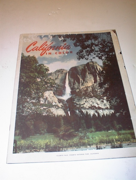 1951 Magazine California in Color