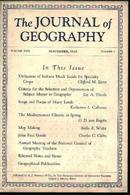 Journal Of Geography -Mediterranean Climate